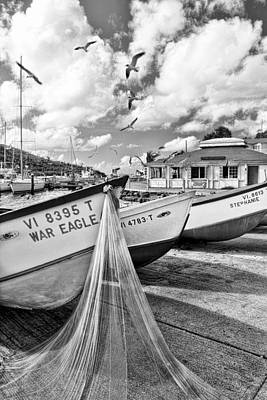 Photograph - Frenchtown Fishing Boats 1 by Gary Felton