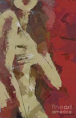 Frenchwoman Art Print by Dragica Micki Fortuna