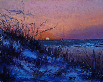 Pastel - Frenchy's Sunset by Susan Jenkins
