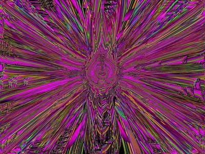 Frenzy Digital Art - Frenetic by Tim Allen