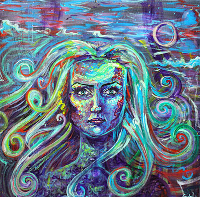 Carolyn Anderson Painting - Frequency by Carolyn Anderson