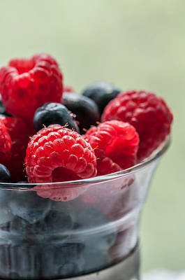 Raspberry Photograph - Fresh And Yummy by Maggie Terlecki