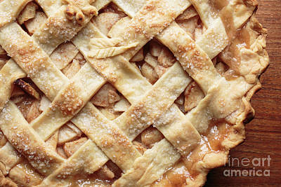Photograph - Fresh Baked Apple Pie by Edward Fielding