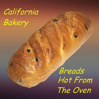 Fresh Baked Bread Customized  Art Print by Movie Poster Prints