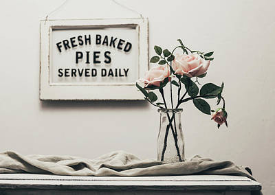 Floral Photograph - Fresh Baked by Kim Hojnacki