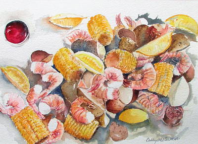 Painting - Fresh Boiled by Bobby Walters