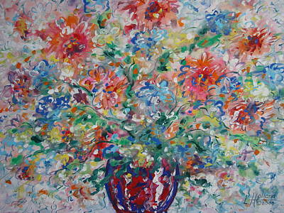 Painting - Fresh Bouquet by Leonard Holland