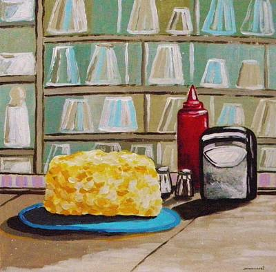 Painting - Fresh Cake by John Williams