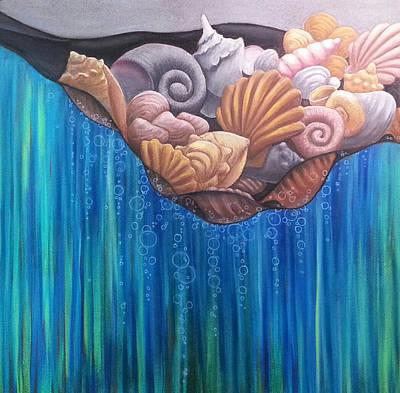 Pastel - Fresh Catch by Lynne Renzenberger
