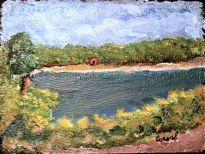 Painting - Fresh Creek by Gregory Dorosh