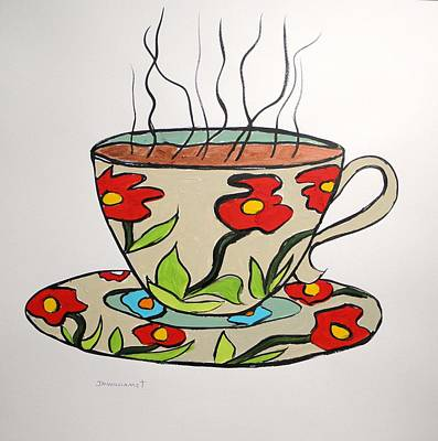 Art Print featuring the painting Fresh Cup by John Williams