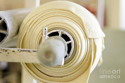 Cooky Photograph -  Fresh Dough On A Rolling Machine  by Dondi