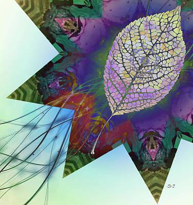 Digital Art - Fresh Flower by Jan Steadman-Jackson