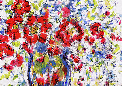 Painting - Fresh Flowers by Natalie Holland