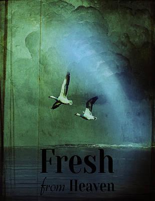 Digital Art - Fresh From Heaven by Richard Ricci