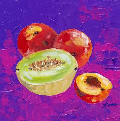 Painting - Fresh Fruit  by Adele Bower