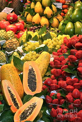 Fresh Fruit Art Print