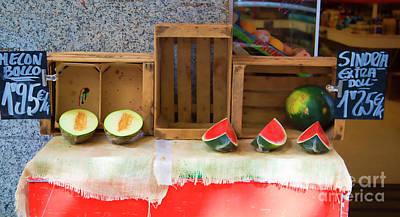 Bama Photograph - Fresh Fruit Barcelona by Chuck Kuhn