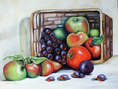 Painting - Fresh Fruit by Theresa Cangelosi
