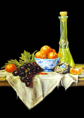 Painting - Fresh Fruits by Munir Alawi