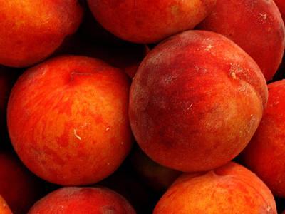Fresh Fuzzy Peaches Art Print by Ian  MacDonald