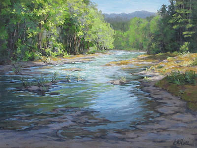Painting - Fresh Greens by Karen Ilari