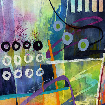 Abstract Airplane Art - Fresh Jazz in a Square 2 by Hailey E Herrera