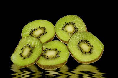 Photograph - Fresh Kiwi Fruits by David French