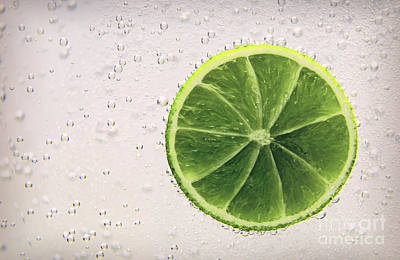 Drink Photograph - Fresh Lime by Sebastien Coell