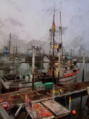 Fishing Boats Photograph - Fresh Live Crab by Thom Zehrfeld