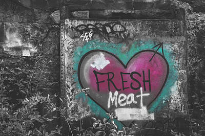 Photograph - Fresh Meat by Andrew Pacheco