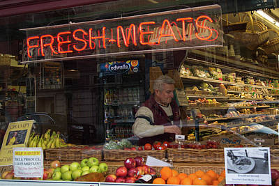 Photograph - Fresh Meats by Allan Morrison