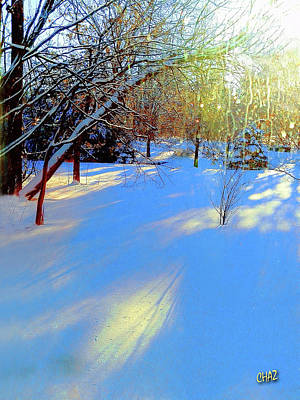 Photograph - Fresh Morning Snow by CHAZ Daugherty