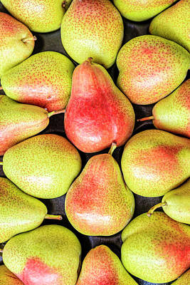Photograph - Fresh Pears by Alexey Stiop