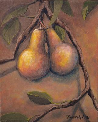 Pear Tree Painting - Fresh Pears by Kimberly Benedict