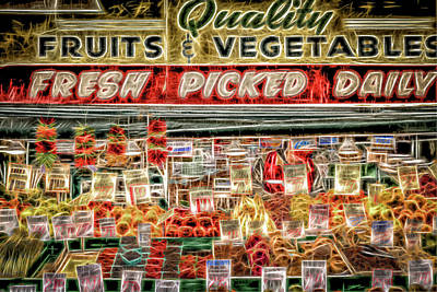 Photograph - Fresh Picked Daily by Spencer McDonald