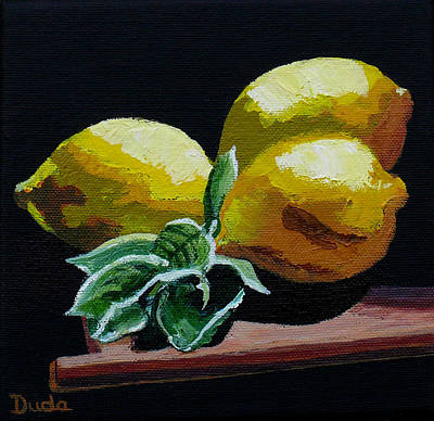 Painting - Fresh Picked by Susan Duda