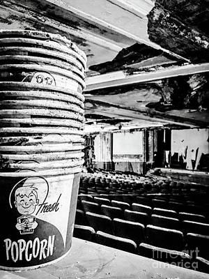 Fresh Popcorn Art Print by JMerrickMedia