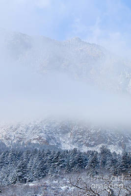 Steven Krull Royalty-Free and Rights-Managed Images - Fresh Snow in Cheyenne Mountain State Park by Steven Krull