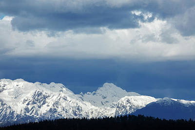 Photograph - Fresh Snow On The Kamnik Alps by Ian Middleton