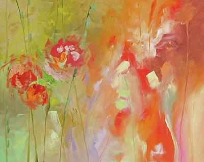 Fresh Start Art Print by Linda Monfort