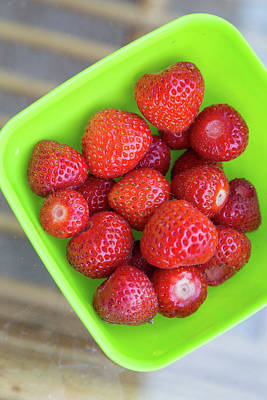 Photograph - Fresh Strawberries by Eti Reid