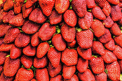 Photograph - Fresh Strawberries by Rick Bragan