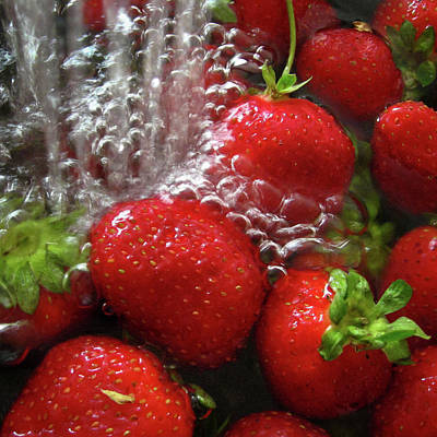 Photograph - Fresh Strawberries by Tatiana Travelways