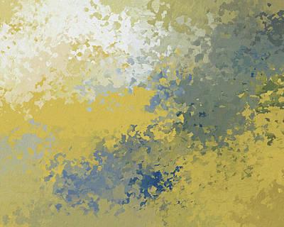 Mixed Media - Fresh Summer Splash Abstract by Georgiana Romanovna