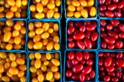 Farmstand Photograph - Fresh Tomatoes by S R Shilling