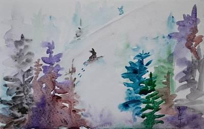 Fresh Tracks Original by Beverley Harper Tinsley
