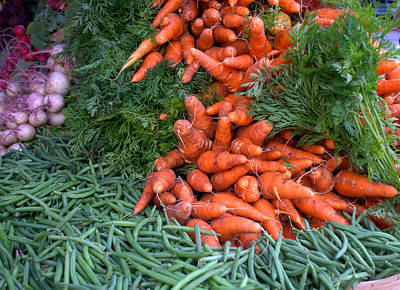Photograph - Fresh Veggies by Charles Bacon Jr