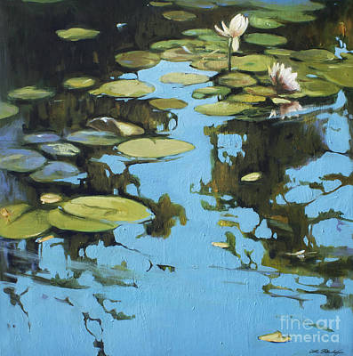 Lin Painting - Fresh Water by Lin Petershagen