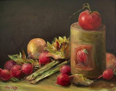 Painting - Freshly Picked by Mary Wolf